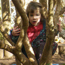 Outdoor learning in Bristol Early Years