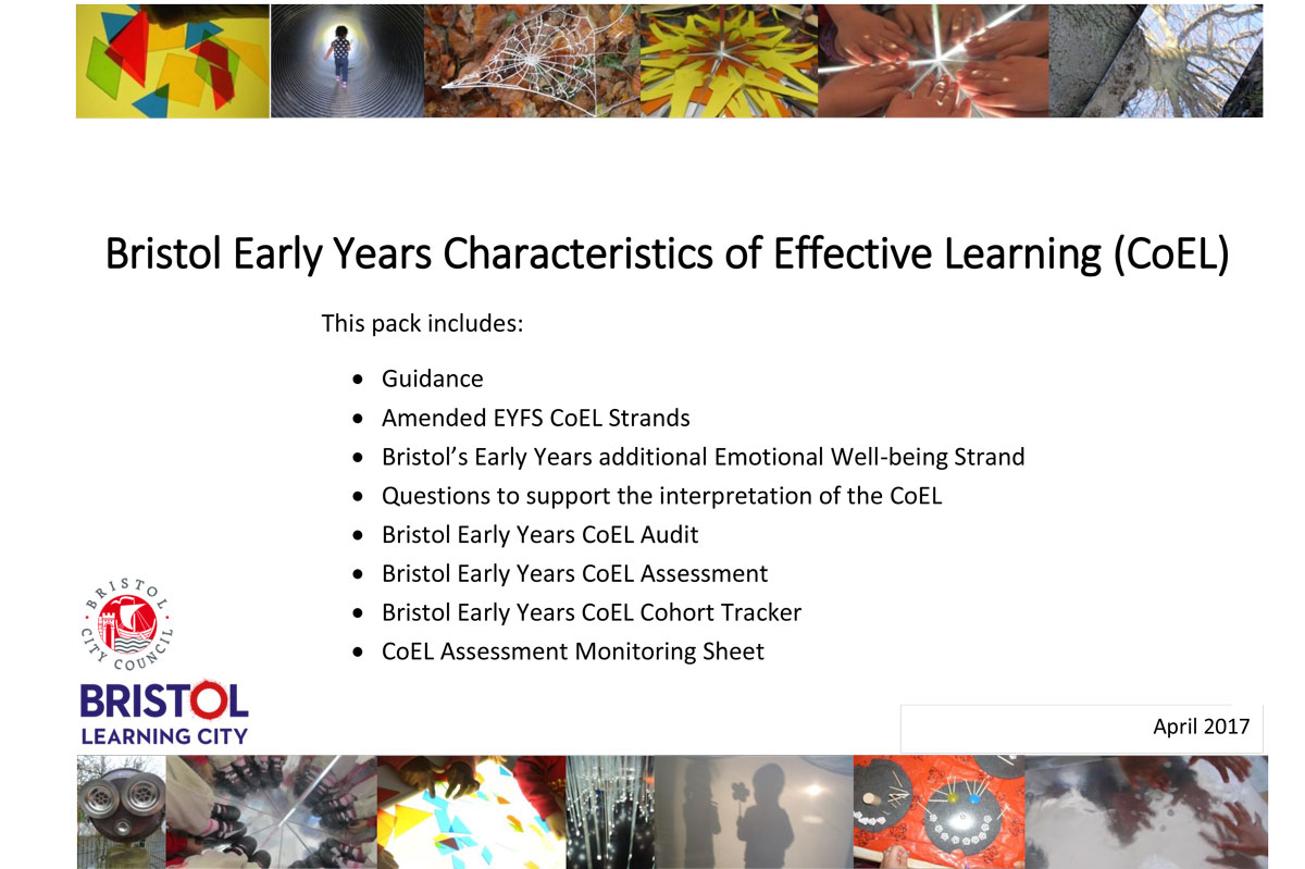 Bristol Early Years Characteristics of Effective Learning