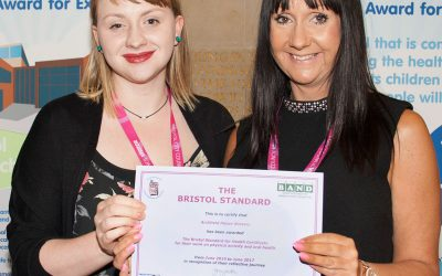 Bristol Standard for Health at The Healthy Schools Award Ceremony