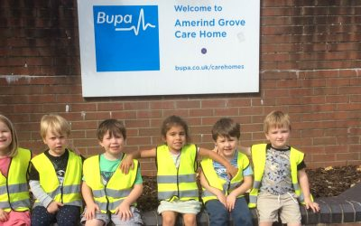 Southville Centre nursery children on Channel 4's, The Old People's Home for 4 Year Olds