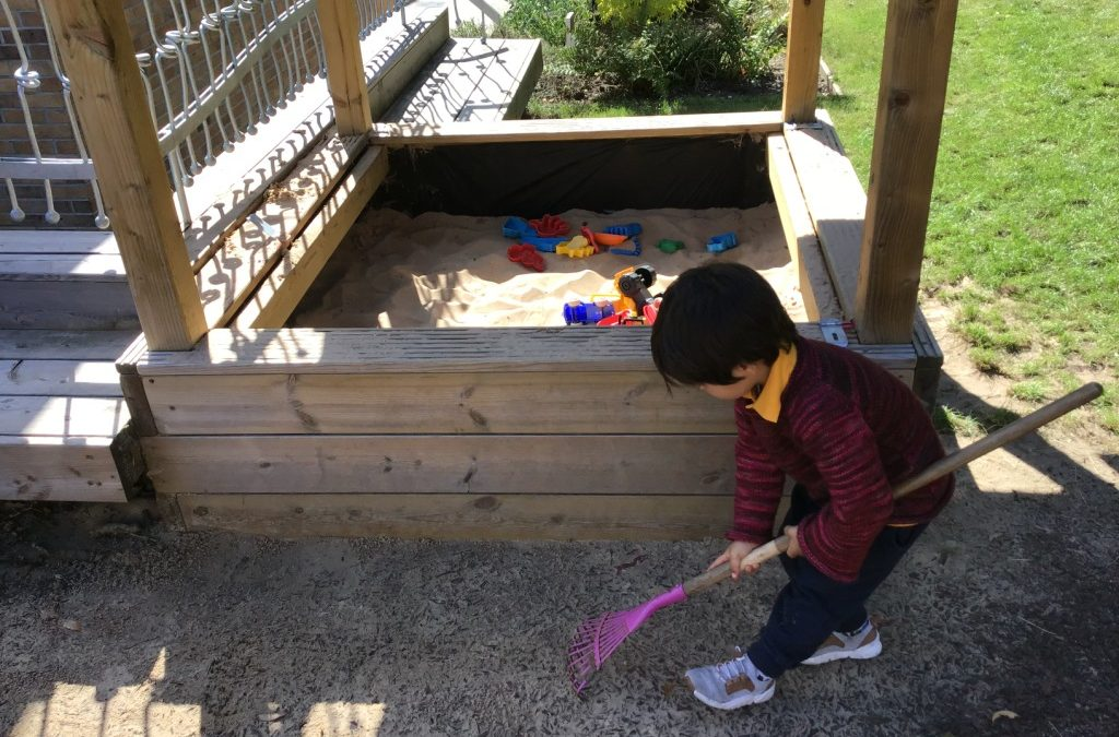 Lantern Pre-School – Garden development 2 years on – May 2019