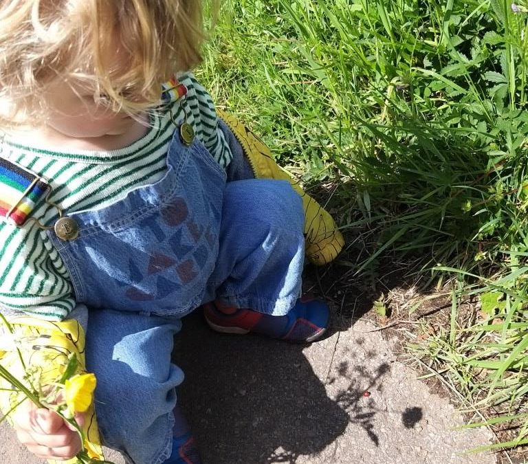 We try to be outside as much as possible – a case study by Kirstie
